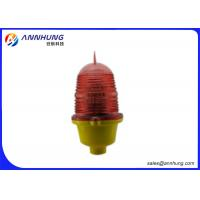 Quality Steady Burning  Aircraft Warning Lights for Buildings with Aluminum Alloy Base for sale