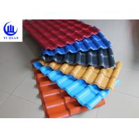 Quality Anti corrosion ASA Synthetic Resin Roof Tiles 1050 mm Width Style for sale