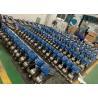 Stainless Steel V Port Pneumatic Segment Ball Valve For Paper & Pulp for sale
