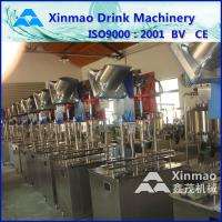 China 18KW Electric Hot Water Bottle Filling Machine , Rinsing Filling Capping Unit on sale