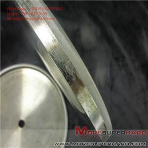 Quality Electroplating abrasive disc, electroplating wheel processing gem Alisa@moresuperhard.com for sale