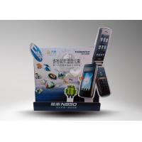 Quality Counter cardboard standee / advertising standee for show phones with 4C printing for sale