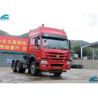 China 420hp  Howo Sinotruk 6x4 Tractor Truck , 10 Wheeler Tractor Head Rated Power 309kw on sale