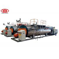 Quality Automatic Fire Tube Gas Fired 1Tons Industrial Steam Boiler for Textile / Chemical / Food and Brewery for sale