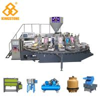 Quality 4.6*3.6*2.3m Automatic Plastic Slipper Injection Moulding Machine With Cooling System for sale