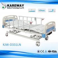 Quality 3 Functions FDA Electric Hospital Bed , Anti - Rust Intensive Care Beds for sale