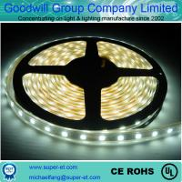 China waterproop IP65 pure white LED Strip Lights flexible strip light on sale