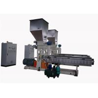 Quality Pvc Granules Single Screw Extrusion Machine With Water Strand Auxiliary System for sale