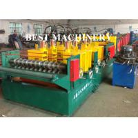 Quality Quick Change Size Ladder Type Cable Tray Forming Machine Punching Holes for sale