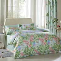 Quality Luxury Beautiful Home Bedding Sets Twin Size / Queen Size Silk Material for sale