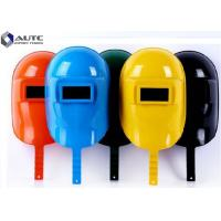 Quality Face Protection Electrician Hard Hat Arc Welding Customized Large Window Size for sale