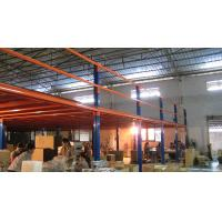 Quality Galvanized / Powder Coated Industrial Mezzanine Floors For Car Accessory for sale