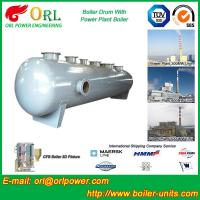 Quality High pressure hot water boiler mud drum ASME certification manufacturer for sale