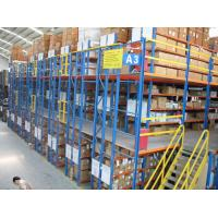 Buy Durable Warehouse Mezzanine Racking System Easy To Dismantle With OEM at wholesale prices