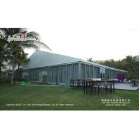 Buy cheap 25m glass marquee tent for 500 people outdoor events from wholesalers