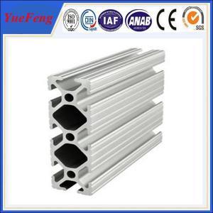 Quality OEM aluminium profiles/aluminium bar supplier, produce aluminum t slot extrusions for sale