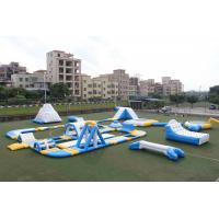 Quality Giant Outdoor Inflatable Water Park Customized Size CE UL SGS airtight water games on sale for sale