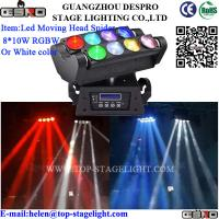 Quality LED Stage Moving Head Spider Light 8*10W for sale