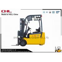 China Rear drive 1.5T small Electric Forklift Truck / Three wheel forklift on sale