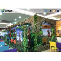Quality Interactive 7D Movie Theater Box With Specail Design , Like Dinosaur Box for sale