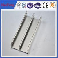 Quality aluminum profiles for doors factory/ 6063 t5 aluminum extrusion press profile for windows for sale
