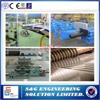 Buy Steel Coil Slitting Process Sheet Metal Slitter Machine 500 ~ 1500mm Strip Width at wholesale prices
