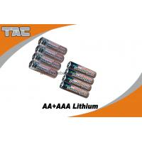 Quality 1.5V Lithium Iron LiFeS2 Battery 2700mAh High open circuit voltage for sale