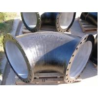Quality Internal cement coating Ductile iron fitting Double flange 90 bend Class PN10 for sale
