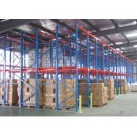 Quality High Volume Drive In Drive Through Racking System C02 Welded For Distribution Center for sale