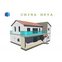 Quality 2 Story Prefab House Villa Energy Efficient Modular Homes Waterproof for sale