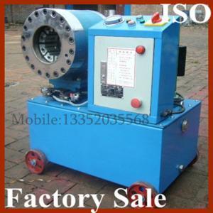 Quality High Pressure Hydraulic Hose Crimper Machine 380V or 220V or 240V , 1/4inch for sale