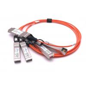 Durable Cisco SFP Modules QSFP-4X10G-AOC1M QSFP To 4 SFP+ Active Optical Breakout Cable for sale