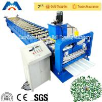 High Speed Roofing Sheet Roll Forming Machine 380V 50Hz 3 Phases 10m/min