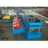 Quality Highway Guardrail Roll Forming Machine Hydrualic Punching Cutting for sale