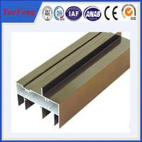Quality Hot! Quality hollow section aluminum sliding window/ aluminum window frame profiles price for sale