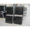 high end narutal absolute black granite , vanity tops granite for kitchen for sale