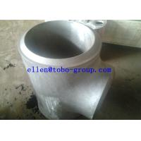 Quality TOBO STEEL Group  ASTM A815 WPS32750 reducing tee for sale