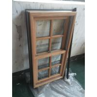 Quality Powder Coating / Wooden Grain Aluminium Window Profiles GB / T6892-2006 for sale