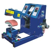 Quality Pneumatic Digital Cap Heat Pressing Machine For 150x60 MM Plate for sale