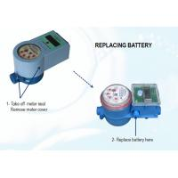 Quality Smart IC Card Prepaid Water Meter with Software , Digital Household Water Meter for sale