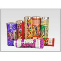 Quality Hot Laminating Printed Plastic Rolls ,  Soft Opaque Plastic Packaging Rolls for sale