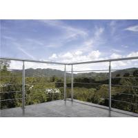 China Durable Stainless Steel Solid Rod Bar Balcony Stairs Deck Railing Balustrade on sale