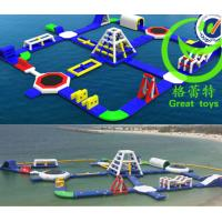 Quality Giant Inflatable water park with warranty 48months from GREAT TOYS LTD for sale