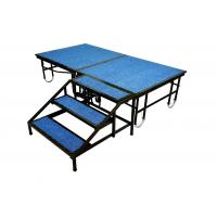 Quality Steel Portable Stage Platform Movable 1220mm X 2440mm For Shop / School Event for sale