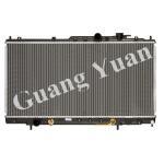 Quality Automotive Engine Custom Aluminium Radiators ECLIPSE 99 - 05 AT  DPI 2406  2438 for sale