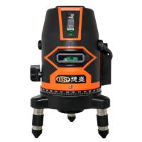 China New Green Beam Auto Self Levelling Rotating Rotary Laser Level 500m 2lines laser level 3lines and 5lines laser level on sale