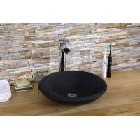 China Custom Commercial  Stone Sink Basin , Stone Kitchen Sink Carved Stone Floating on sale