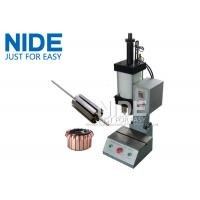 Quality Manually Armature Rotor Commutator fitting Pressing Inserting Machine for sale