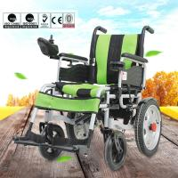 Quality Various Color Portable Motorized Wheelchair Aluminum Alloy Material DLY-6001 for sale