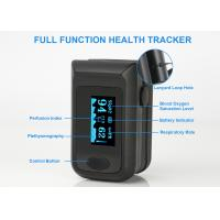 China Home Use OLED Display Finger Pulse Oximeter / PI Display Spo2 Oximetry Pulse Oximeter Machine on sale